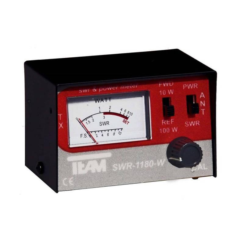 Medidor ROE estacionarias yvatímetroTeam SWR-1180-W para CB 27 Mhz
