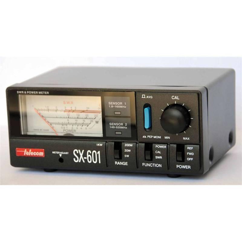 Medidor ROE estacionarias yvatímetroTelecom SX-601 1.8-525 MHz 1000W