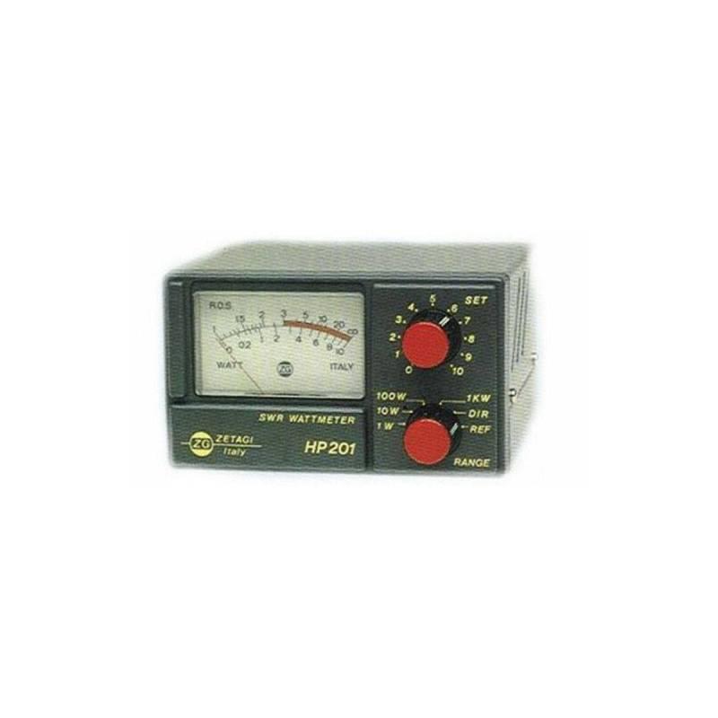 Medidor ROE estacionarias yvatímetroZetagi HP201 1.8-525 MHz 1000W