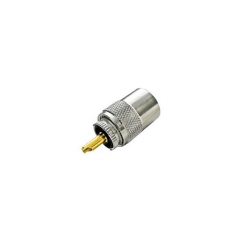 Conector PL Sirio PLRG58 para cable RG 58