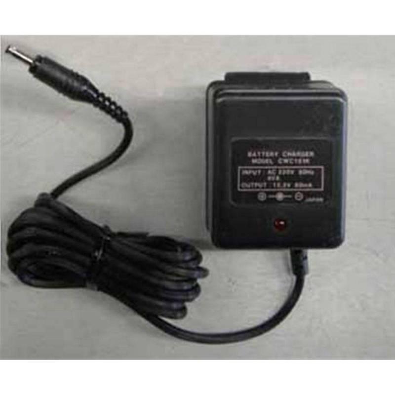 Cargador para baterías walkie Ni-Mh con led de carga.12 V 100 mAh.