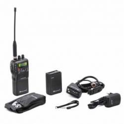 Walkie CB Midland Alan 42 DS squelch digital y filtros ANL-noise blanker 40 CH vista del equipo incluido