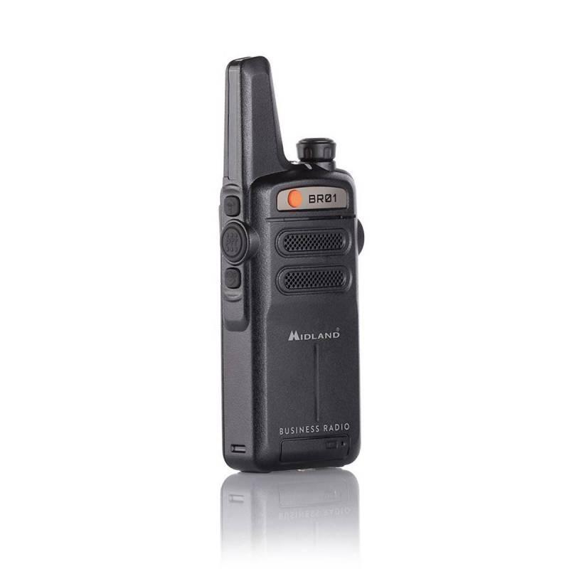 Walkie Profesional PMR 446 Midland BR01 500 mW 8 CH 2800 MAh Litio