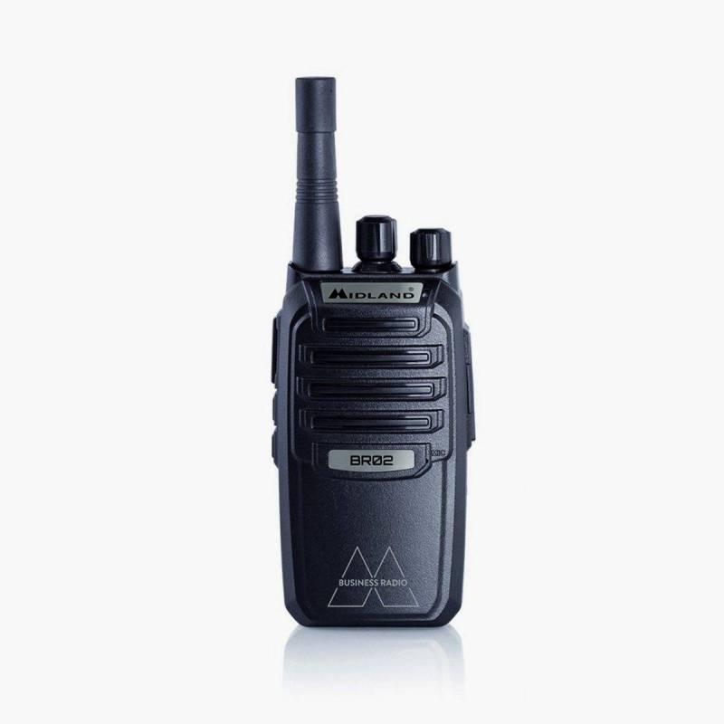 Walkie Profesional PMR 446 Midland BR02 500 mW 8 CH 1800 MAh Litio