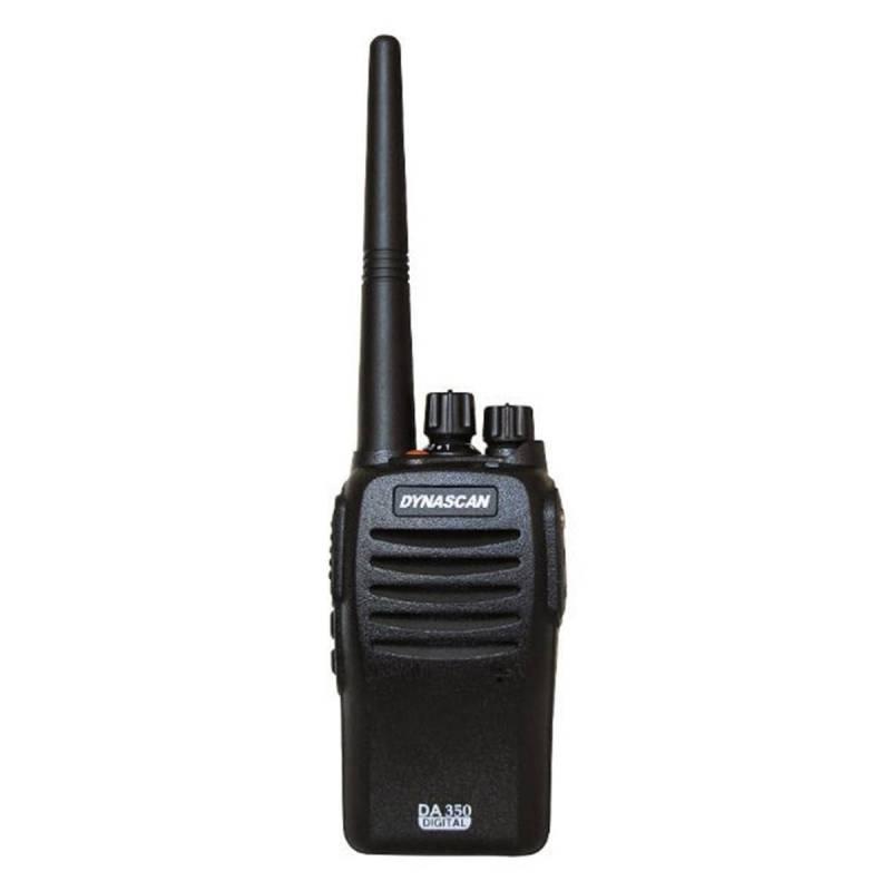 Walkie Profesional PMR 446 Dynascan DA 350 Analógico-Digital 32 CH