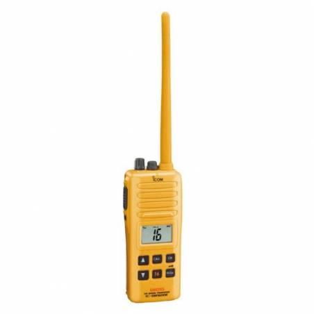 Walkie Marino Icom IC-GM1600E VHF GMDSS cumple Wheel Mark IP-X7