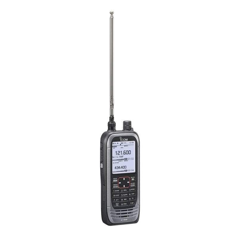 Receptor escáner portátil Icom IC-R30 150 KHz-3300 MHz