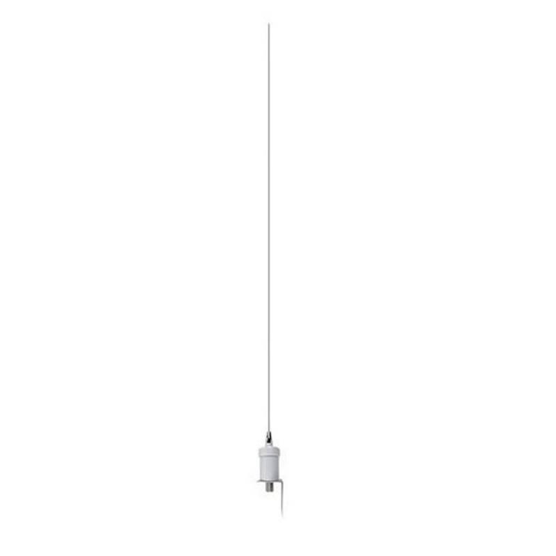 Antena marina VHF Jetfon NVF-158 Inox 3dB 90 cm 200W soporte en L