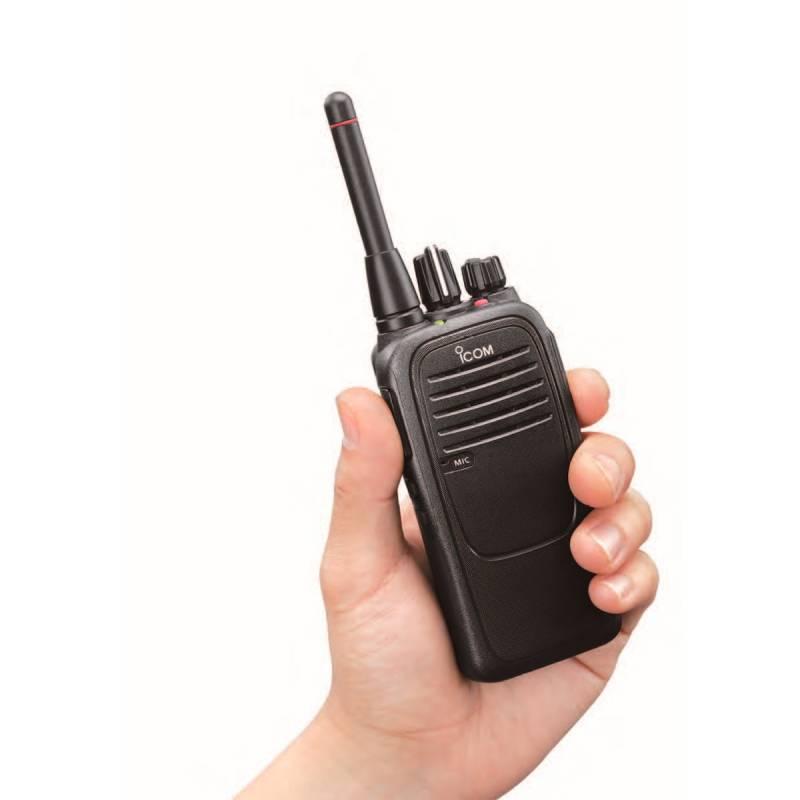 Walkie Icom IC-F29SR PMR STD 810 IP 67 500 mW 446 MHZ bat. BP 279