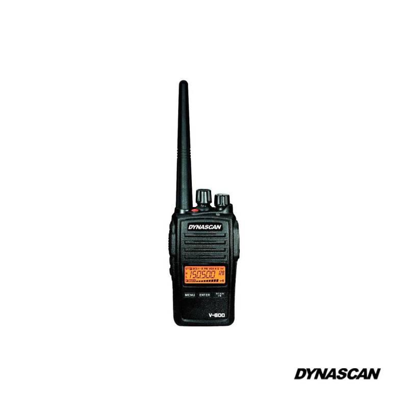 Walkie VHF Dynascan V-600 5W resistente al agua IP67