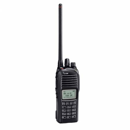 Walkie Icom ICF 3262 DT VHF digital y FM IP 67