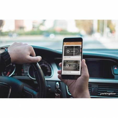 Parkingdoor sistema de apertura con smartphone