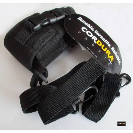 Funda para walkie Cordura de Nylon ajustable a varios tamaños