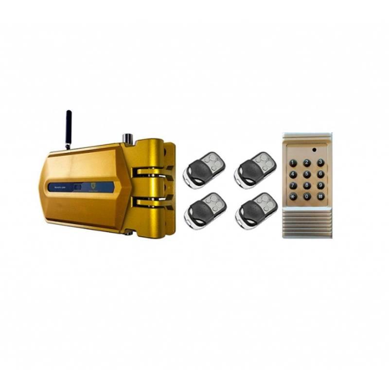 Golden Shield JD268 Oro cerradura electrónica de seguridad invisible