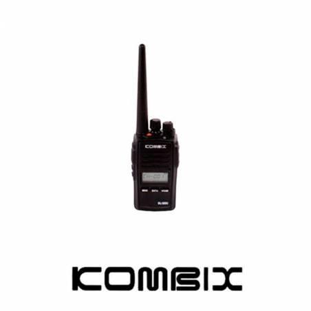 Walkie Kombix RL-120U UHF compacto subtonos batería de Litio 1100 mAh