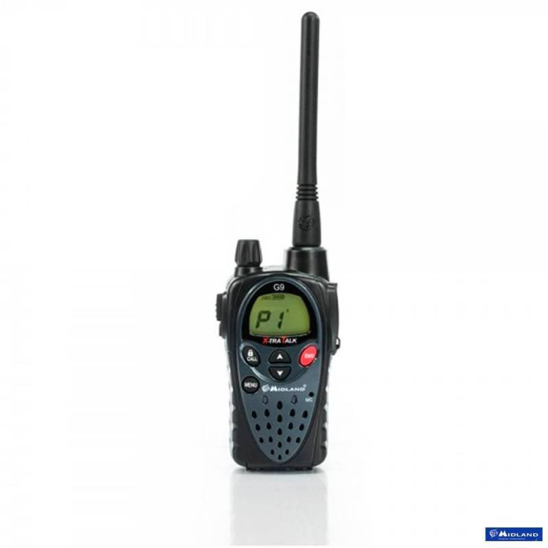 Walkie Midland G9 Plus PMR 8CH con vox control y vibrador