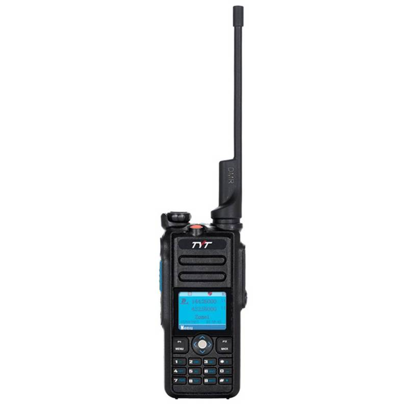 Walkie Talkie Digital-Analógico DMR, Doble banda 144-430 Mhz + GPS