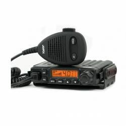 Emisora Jopix PT31 CB AM-FM Smeeter LCD y Squelch automático detalle lateral