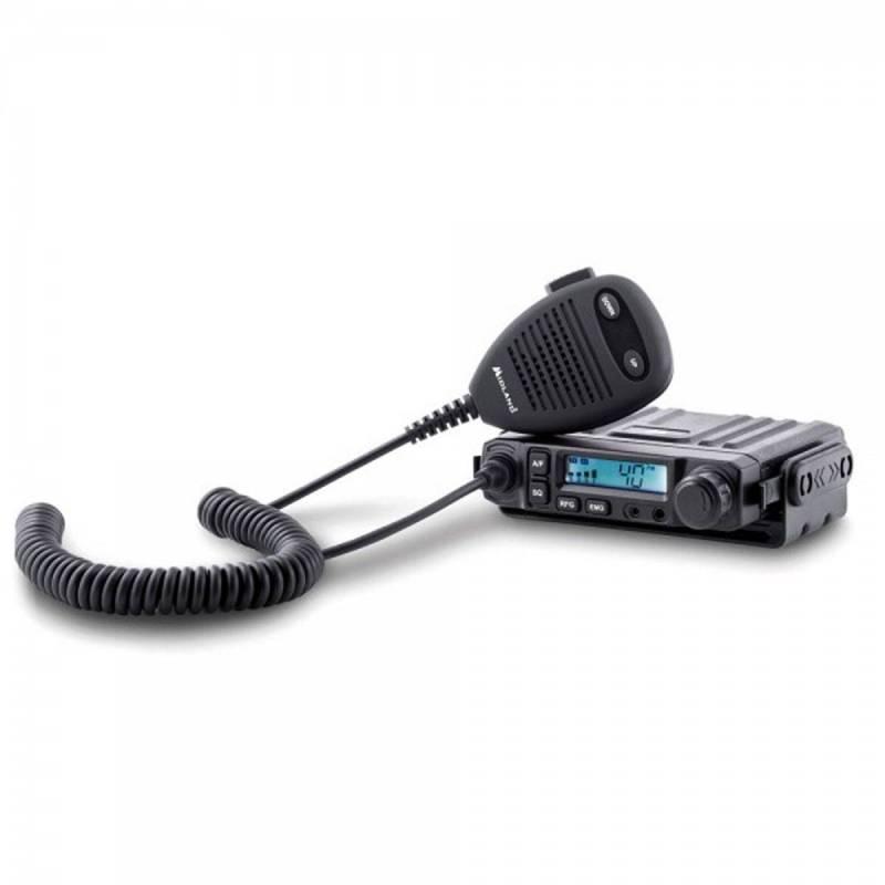 Emisora Midland M-Mini CB AM-FM SmeeterLCD, Squelch automático