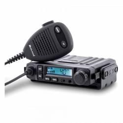 Emisora Midland M-Mini CB AM-FM SmeeterLCD, Squelch automático detalle display
