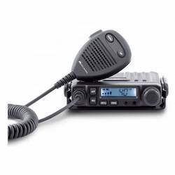 Emisora Midland M-Mini CB AM-FM SmeeterLCD, Squelch automático detalle frontal