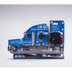 Emisora Midland CB GO Blister emisora Mmini + antena magnética