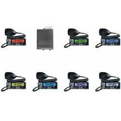 Emisora President Barry CB AM-FM Squelch automático, 12 y 24 V vista colores display