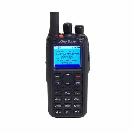 Walkie DMR Anytone AT-D868UV  VHF-UHF 144-430 MHZ. con GPS
