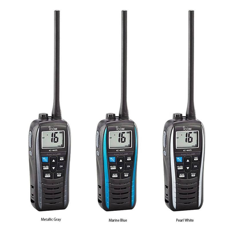 Walkie Marino ICOM IC-M25EURO VHF 5W con IPX7
