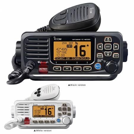 Emisora Marina ICOM IC-M330GE VHF 25W con IPX7 y GPS