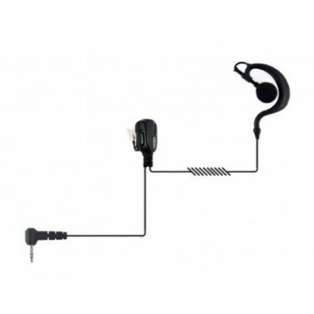 Micrófono auricular Jetfon BR-1708E-C, compatible con Motorola