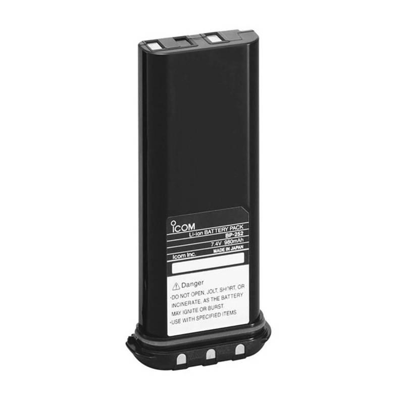 Batería Icom BP-252 Litio 7.4V 980 mAh para IC-M33 y GM1600