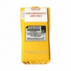 Batería Entel CLB750G Litio 9V 1800 mAh para HT649 vista contactos