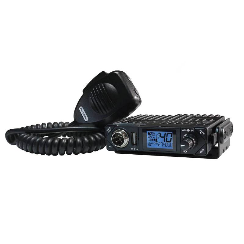 Emisora CB President Bill AM-FM LCD y Squelch automatico
