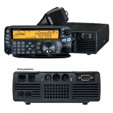 Emisora decamétrica Kenwood TS-480SAT 100 KHz-30 y 50 MHz 100 W
