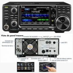 Emisora decamétrica Icom IC-7300 100 KHz-30 y 50 Mhz