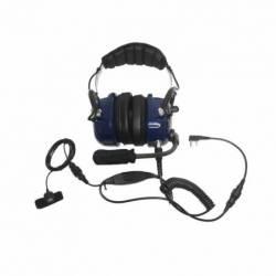 Micro-cascosTeam PR-2309 para entornos ruidosos compatible Kenwood