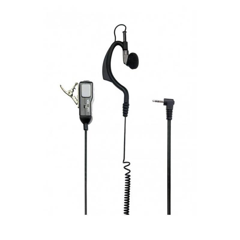Micrófono auricular Alan MA-21M con conmutador PTT - VOX para Midland