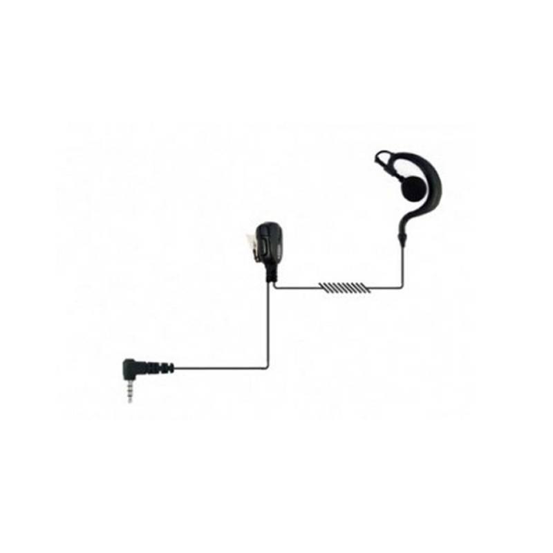 Micrófono auricular Jetfon JR-1704 E/C compatible con Yaesu