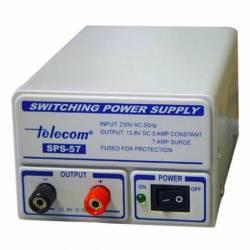 Fuente de alimentación conmutada Telecom SPS-57 5-7 Amperios 13