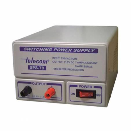 Fuente de alimentación conmutada Telecom SPS-79 7-9 Amperios 13