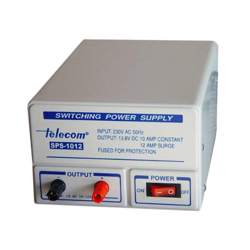 Fuente de alimentación conmutada Telecom SPS-1012 10 Amperios 13