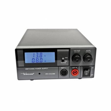 Fuente alimentación conmutada regulable Telecom RPS-1230-SWD 20-30 Amp