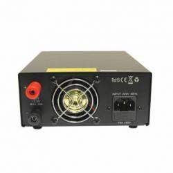 Fuente alimentación conmutada regulable Telecom RPS-1230-SWD 20-30 Amp vista parte trasera