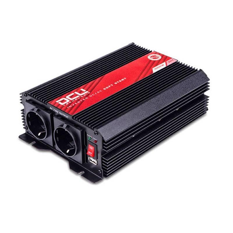 Convertidor DCU 3741241000M Onda senoidal modificada 24DC a 220AC 1000W
