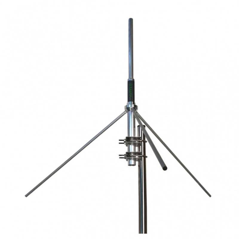 Antena base VHF Tagra GP-144-1/4 136 - 174 Mhz 500W 2.15 dBi 465 mm