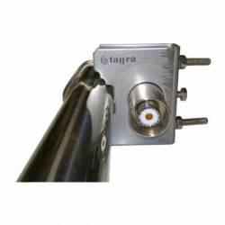 Antena base profesional VHF Tagra CVX-145 1.2 m 2.15dBi 140-155 MHz detalle conector