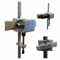 Antena profesional VHF Tagra DVC-4A directiva 4 elementos 134-148 Mhz detalle conector