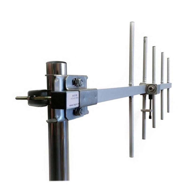 Antena base directiva profesional UHF Tagra AUC-5C 430-445 Mhz 11.15dBi