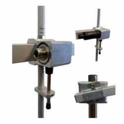 Antena base directiva profesional UHF Tagra AUC-5E 460-475 Mhz 11.15dBi detalle conexión